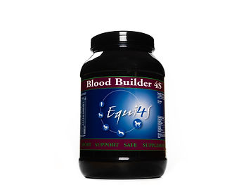 Feed supplement for horses blood profile