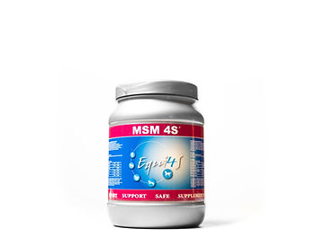 Feed supplement for horses Muscles MSM 4
