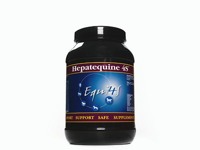 Feed supplement for horses liver, Hepatequine 4S