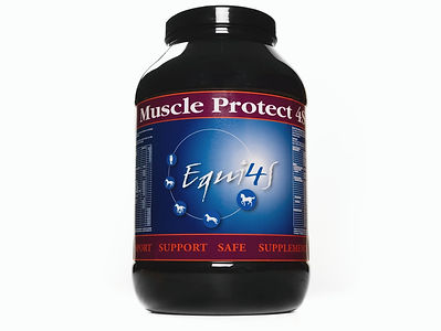 Feed supplement for horses muscles, muscle protect 4S
