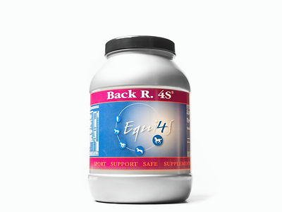Feed supplement for horses back, back R. 4S