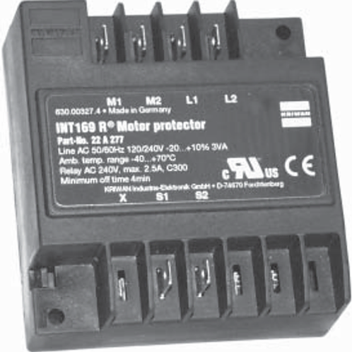 ELECTRONIC MOTOR PROTECTOR KRIWAN INT169R