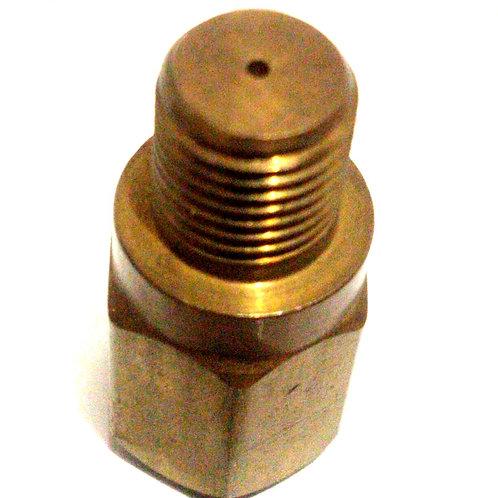 CONECTOR TUBING CAT 4-4GBI2-B 1/4X1/4 HEMBRA