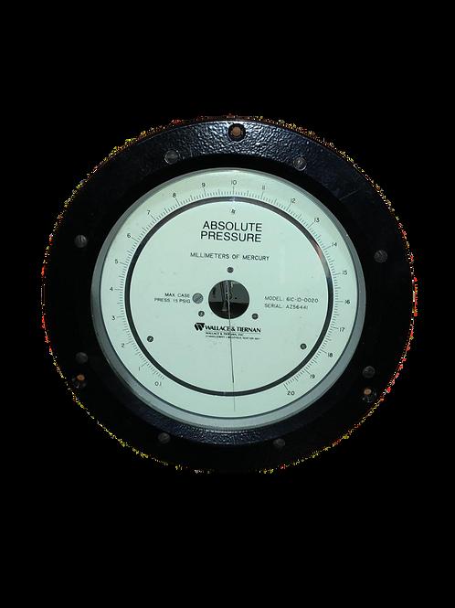 VACUOMETRO MOD. 61C1D0020 W&T