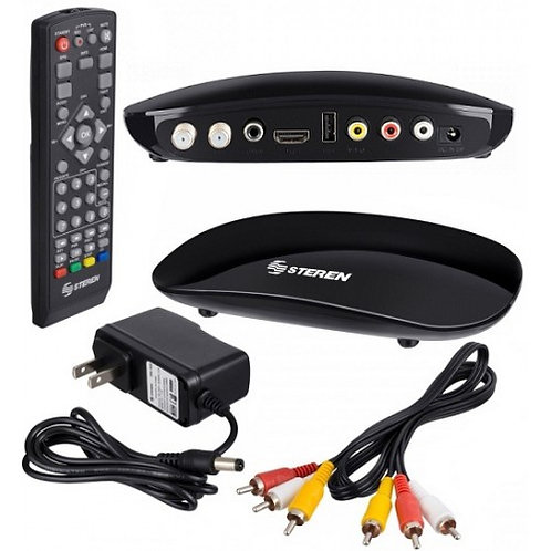 DECODIFICADOR DE TV DIGITAL TERRESTRE N/P 208-900 STEREN
