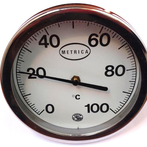 TERMOMETRO BIMETALICO MOD. BM127P RGO 0 A 100 ºc