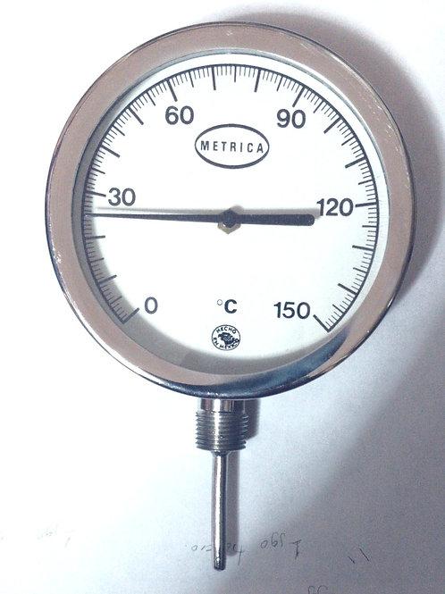 TERMOMETRO BIMETALICO MOD. BM127I RGO 0 A 150 ºc