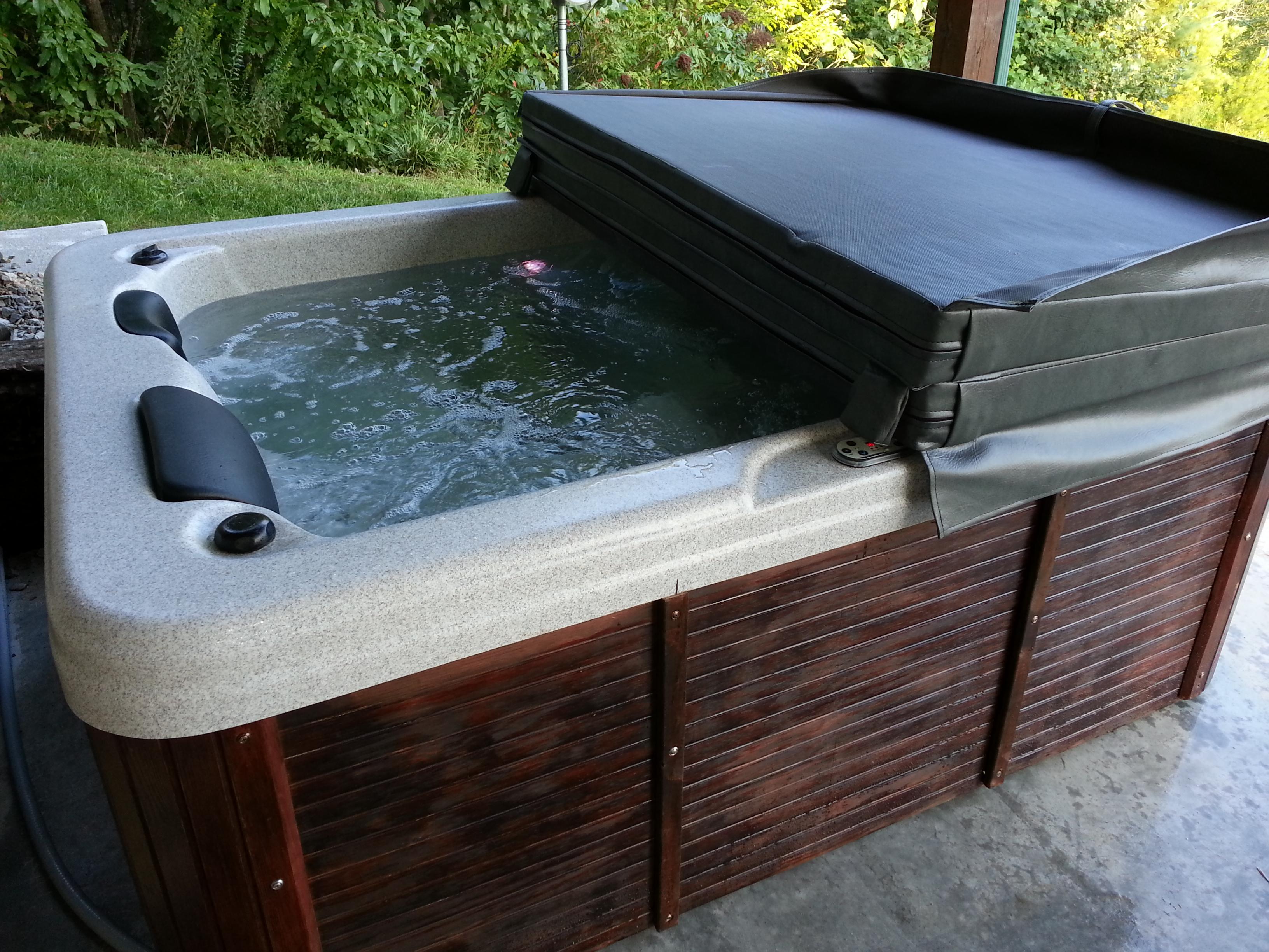 Refurbished Tub!