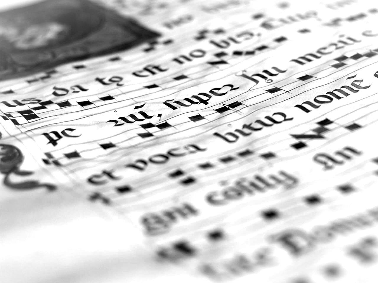 Chant Lesson