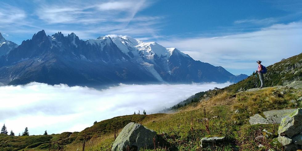 11-18 Aug. / Inspired Yoga Travel - Tour du Mont Blanc & Yoga