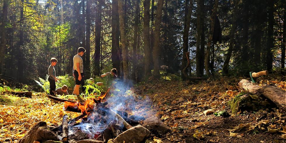 17-24 Oct. / Camp Jeunesse - Nature & Vie Sauvage / Youth Camp - Into the Wild