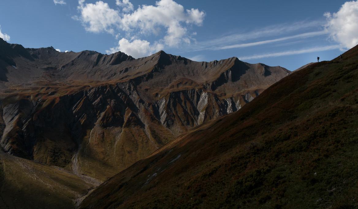 Val Ferret (CH) Tour du Mt Blanc Photo: A. Hung