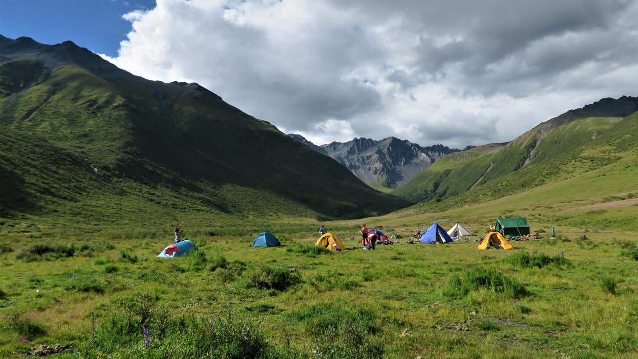 Dza La Base Camp