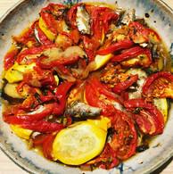 トマトとオイルサーディンのタイム風味.JPG
