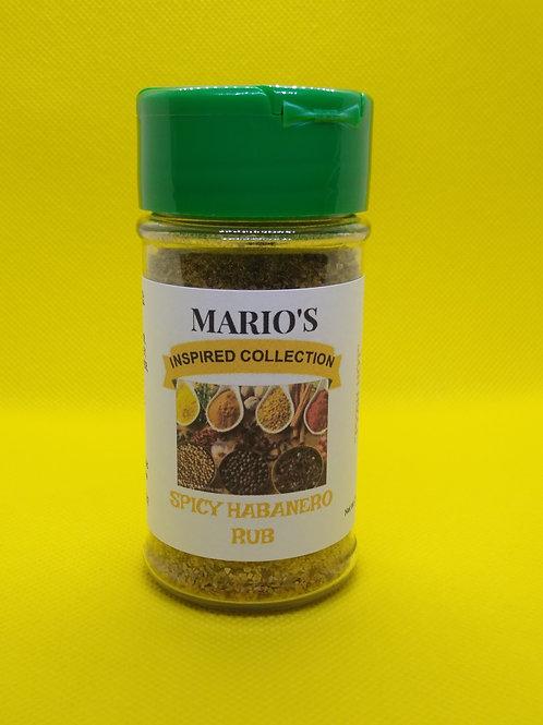 Spicy Habanero  Rub