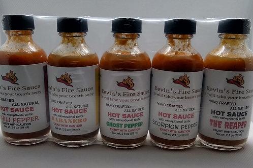 Five - 2oz Bottles Sample Pack