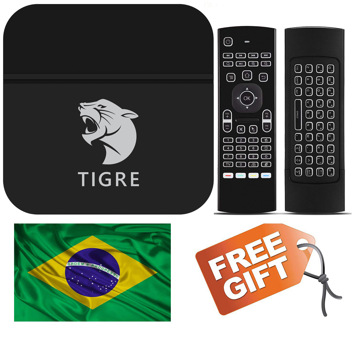 2019 Newest Htv Tigre Brazil Box A2 Based on HTV6+, IPTV5 HTV5 HTV 5  Updated,ao | bomix-android-tv-box
