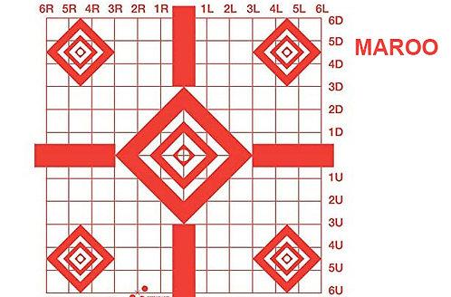 MAROO Sight-in Target (10-Pack)