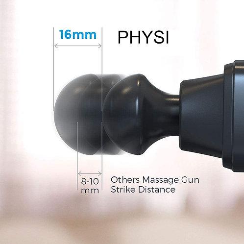 PHYSI 16mm Amplitudes Massage Gun Deep Tissue Percussion Muscle Massager