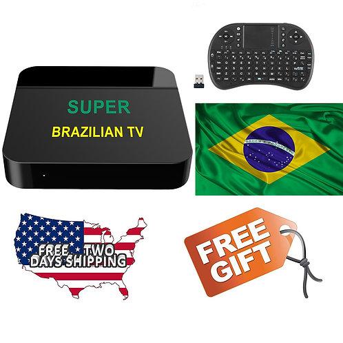 2019 Htv Box Super Brazilian TV Based on HTV6+, IPTV5 HTV5 HTV 5 Updated,ao vivo