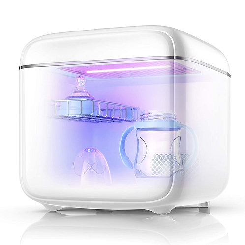 UV Light Sanitizer UV Sterilizer Box UV-C Clean Sterilizer and Dryer for Baby Bo