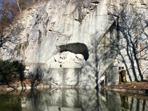 Lions Monument Lucerne