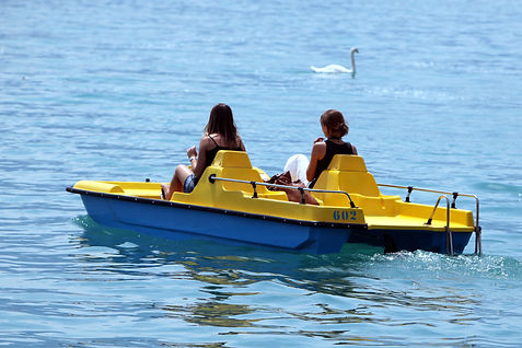 Pedalo Lucerne Lake