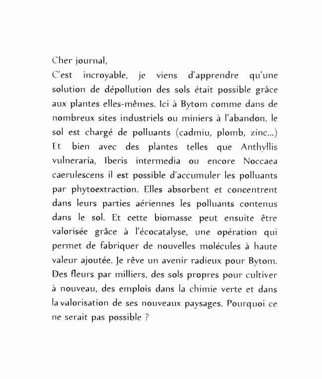 Journal intime / Les plantes