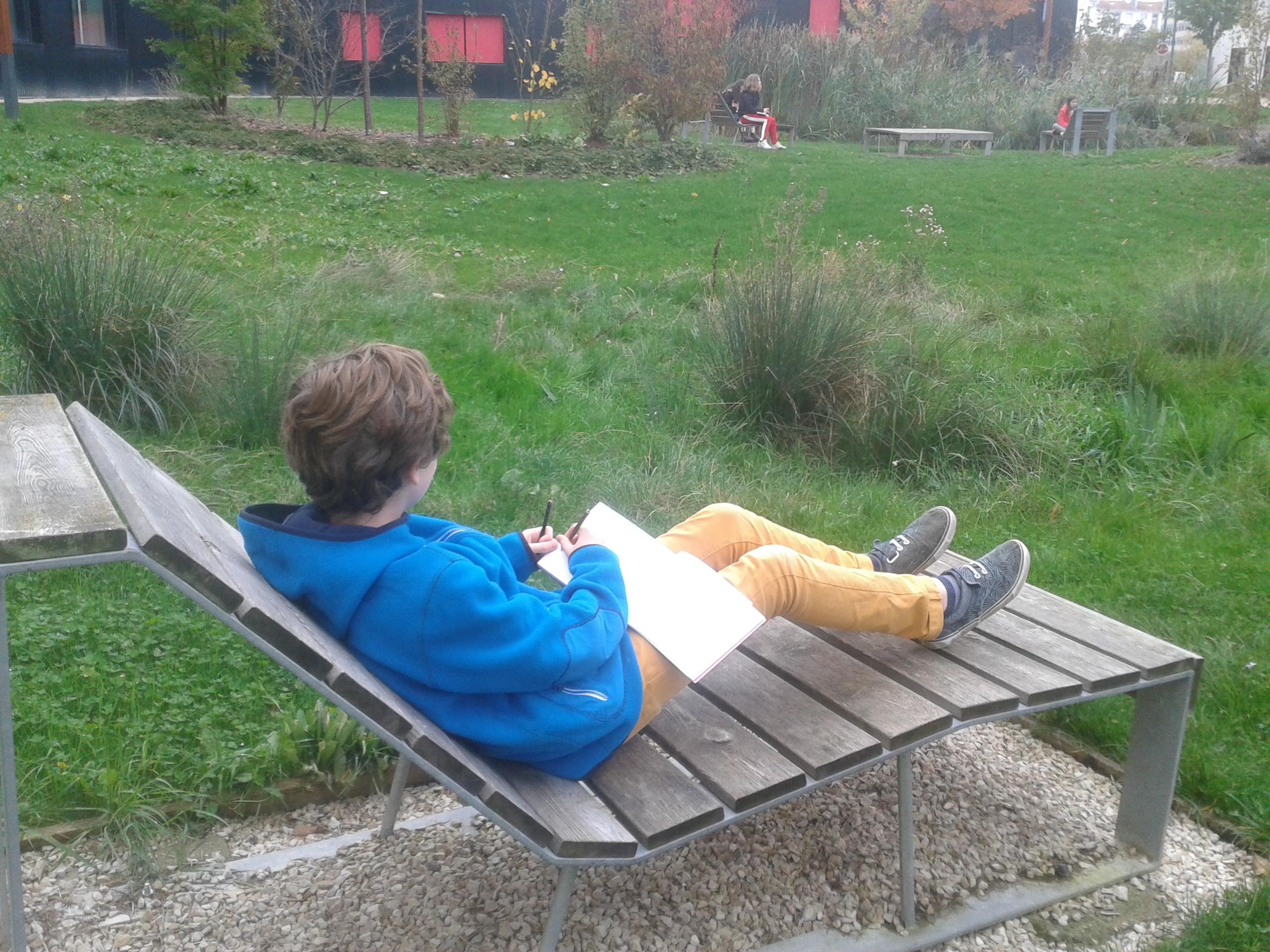 Visite de site / Les jardins
