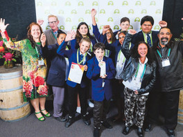 Bourke High School NSW Landcare Champions.