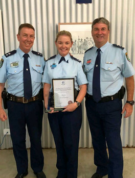 Recognition for local Domestic Violence Liaison Officer