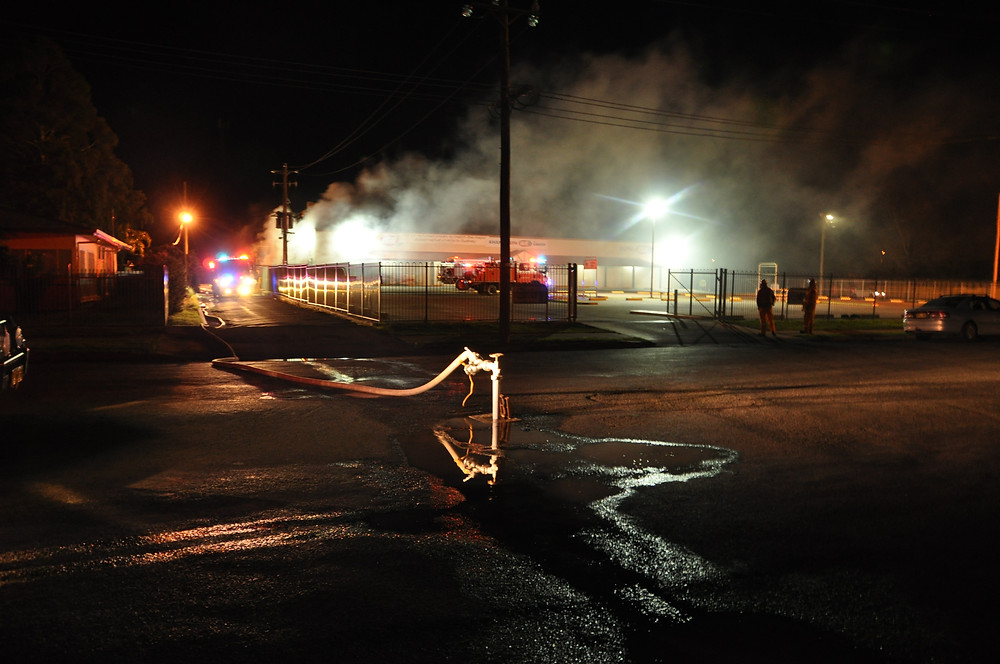 About 9pm Tuesday, police were informed of a large fire in the loading dock at the IGA supermarket. Police, NSW Fire and Rescue and Rural Fire Service volunteers attended and brought the blaze under control. No one was injured, but considerable amount of damage was caused to the building. It appears that numerous bales of cardboard in the loading dock area had been set alight. This follows a similar incident which occurred on the 28th of September. Investigations are continuing by police who said two young people are assisting them with their inquiries.