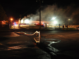 Fire at the IGA