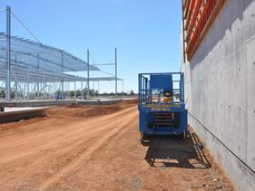 Progress at new abattoir site