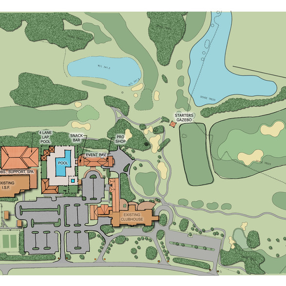 Salisbury Country Club - Master Plan