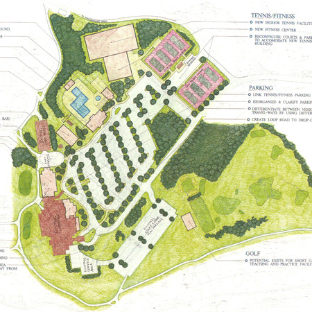 Hermitage Country Club - Master Plan