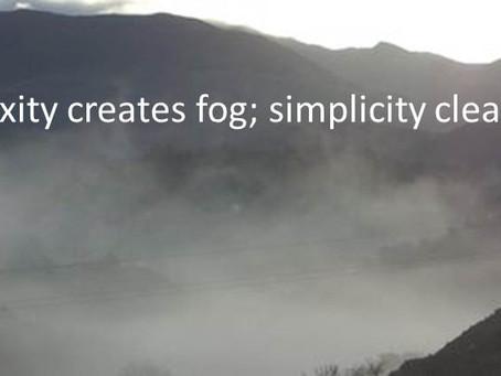 Complexity Fog
