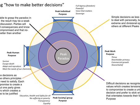 """Plotting """"How to make better decisions?"""""""