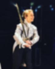 Elouise performing Cherubino for Le Nozze di Figaro 2017