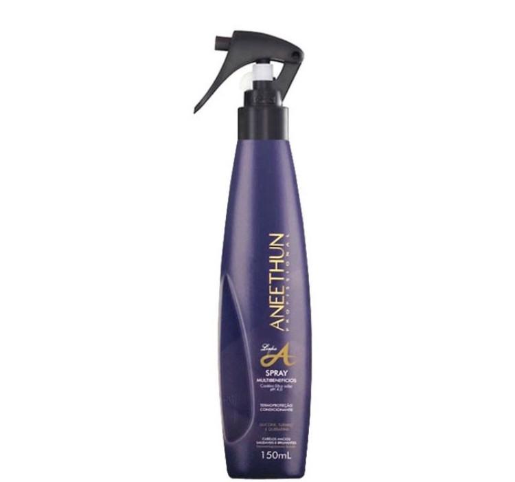 Aneethun Linha A Spray Multibenefícios Termo Protetor 150ml