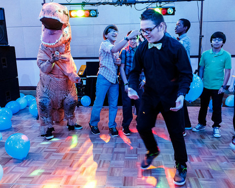 RoboProm, dancing with the dinosaurs