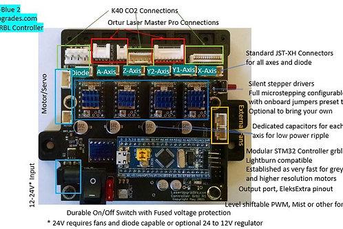 32 bit Black-N-Blue 2 GRBL Laser Controller