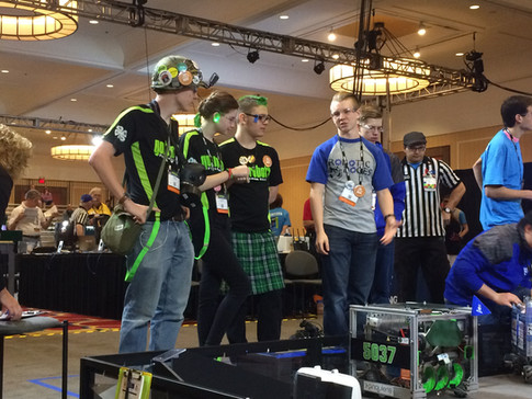 Drive Team 1 on the field