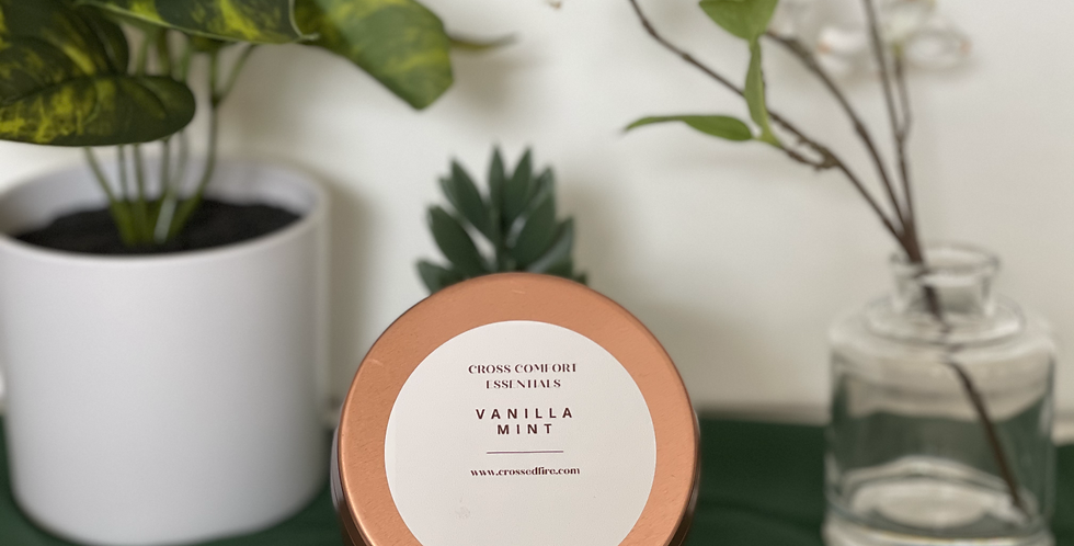 Vanilla Mint Scented Candle