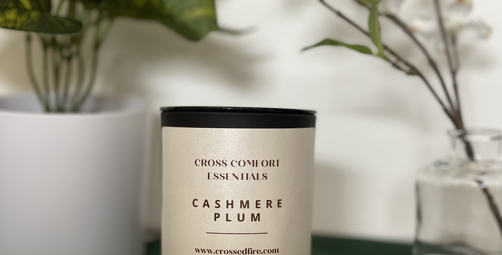 Cashmere Plum Scented Candle