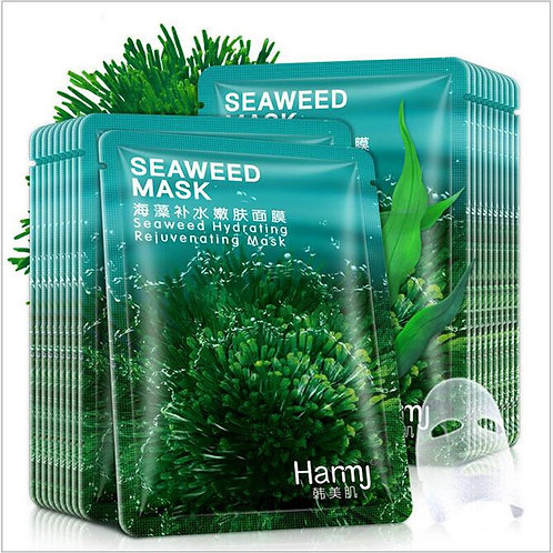 30pcs Korean Beauty Seaweed Mask Hydrating Skin Rejuvenation