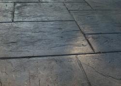 Concrete Imprint & Colouring