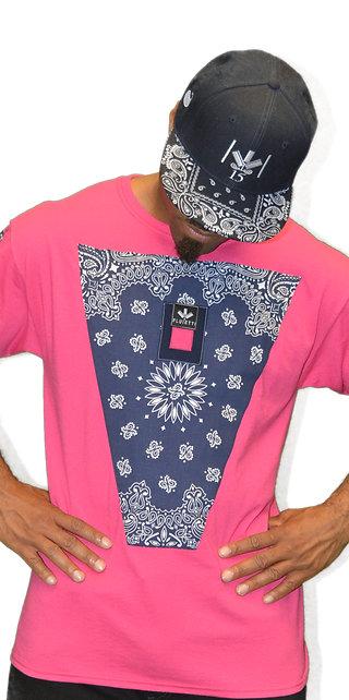 DARMAX NAVY BLUE/PINK & HAT