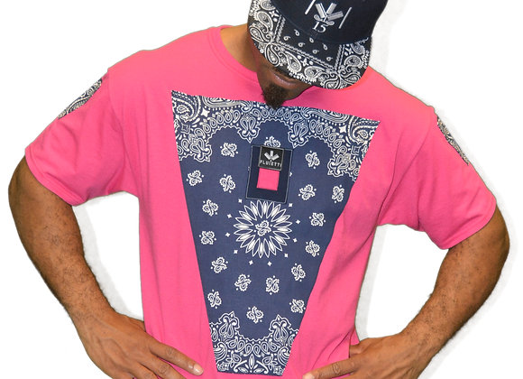 DARMAX NAVY BLUE/PINK & HAT