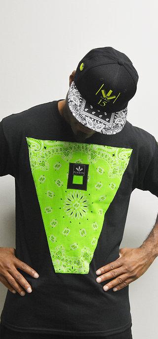 DARMAX NEON GREEN/BLACK & HAT